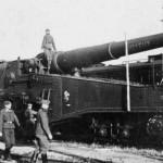 French Railroad Gun 320 mm Mle 1917 named Joyeux