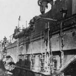 French railroad gun