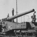 Schneider 320 mm Mle 1870 93 1945 railway gun Furth 1945