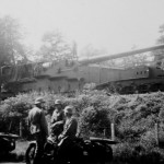 captured 274 mm Mle 1917 railway gun 1940