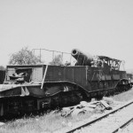 ex French 37 cm K(E) 714(f) 370 mm Modele 1875-79 German Railroad Gun