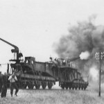german 28 cm Eisenbahngeschutz railway gun
