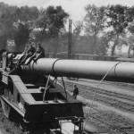 railway gun 340 mm St. Chamond Mle 1912