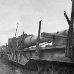 railway gun barrel