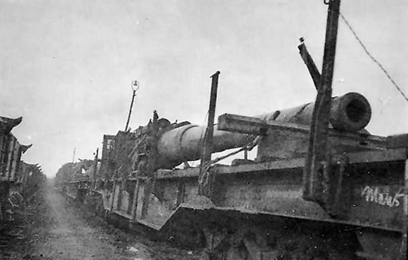 railway gun barrel