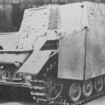 Brummbar Late production model rear view