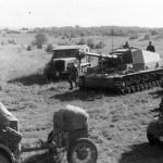 Dicker Max 10.5 cm K18 auf Panzer Selbstfahrlafette IVa Russia