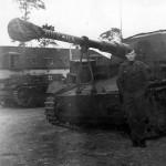 Dicker Max 10,5 cm K18 auf Panzer Selbstfahrlafette IVa