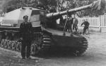 Dicker Max kill rings on barrel Panzerjager Abteilung 521