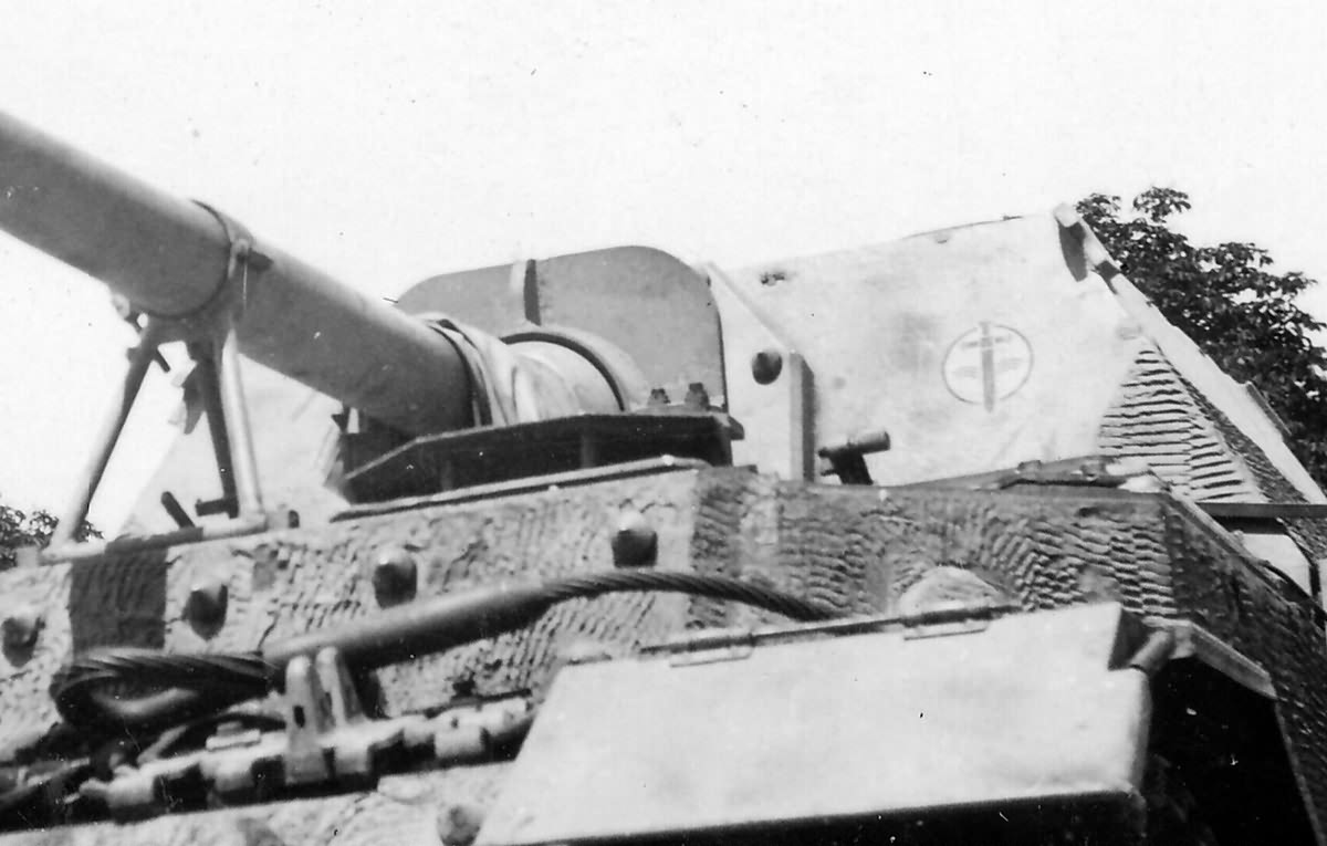 Elefant of 653rd Heavy Panzerjäger Battalion