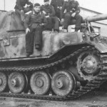 Elefant of the Panzerjager Abteilung 653 Italy