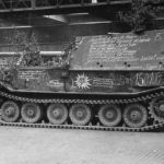 Ferdinand 150100 in production hall, May 1943