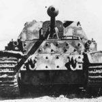 Ferdinand 501 of the schwere Panzerjäger-Abteilung 654