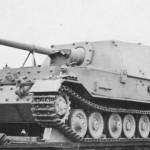 Ferdinand Elefant Tank Destroyer rail transport