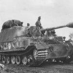 Heavy tank destroyer Panzerjäger Ferdinand Ostfront