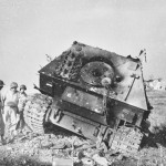 Heavy tank destroyer Ferdinand Elephant Knocked Out at Anzio Italy May 1944