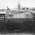Panzerjager Tiger (P) Elefant with zimmerit of the Panzer Jg Abt. 653