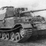 Heavy tank destroyer Elefant from schwere Panzerjäger-Abteilung 653