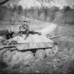 Captured Jagdpanzer 38t Hetzer 1945