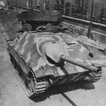 Hetzer Panzerjager 38(t) Found at Skoda Works Factory Pilsen Czechoslovakia