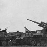 Hetzer and Panzer IV with Flak 88