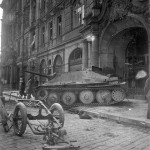 Hetzer tank destroyer – Prague 1945