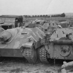 Hetzer tank destroyers 1945