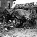 destroyed hetzer