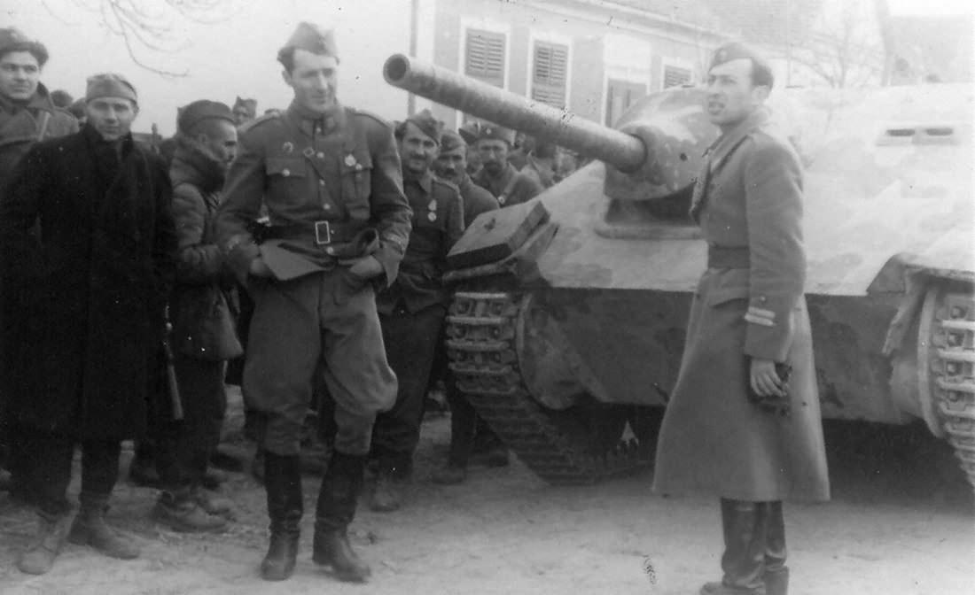 Hetzer Yugoslavia 1944
