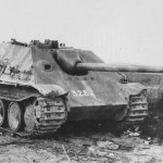 Captured Jagdpanther 328 Eastern Front