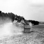 Jagdpanther during field exercises in occupied France