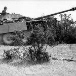 Jagdpanther with zimmerit during field exercises in occupied France