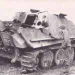 Jagdpanther number 123 of the schwere Panzerjäger Abteilung 654 (s.Pz.Jg.Abt.654)