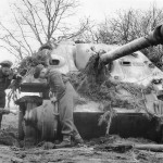 Jagdpanther of the schwere Panzerjäger-Abteilung 655 March 1945