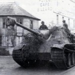 Jagdpanther with zimmerit of the schwere Panzerjäger-Abteilung 654 France