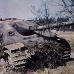 Jagdpanther color photo