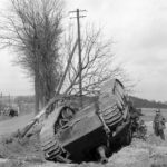 Jagdpanther destroyed by air attack near Altenkirchen 45