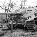 Jagdpanther of the schwere Panzerjäger-Abteilung 655, late production model 1945