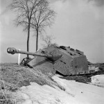 Jagdpanther winter