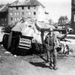 tank destroyer Jagdpanther – stripe camouflage