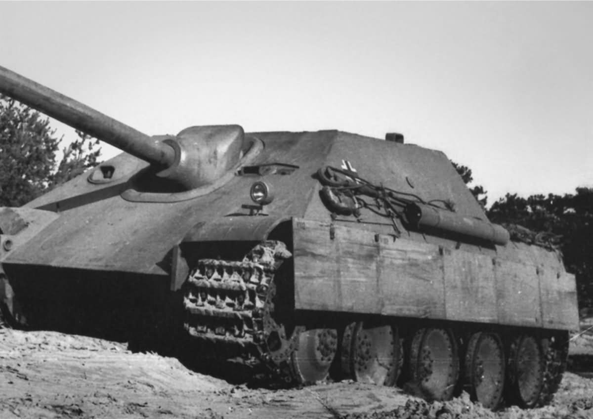 Jagdpanther early production