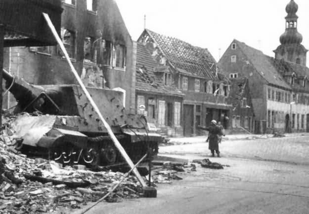 Jagdtiger 131 1st company 653 schewere Panzerjager Abteilung