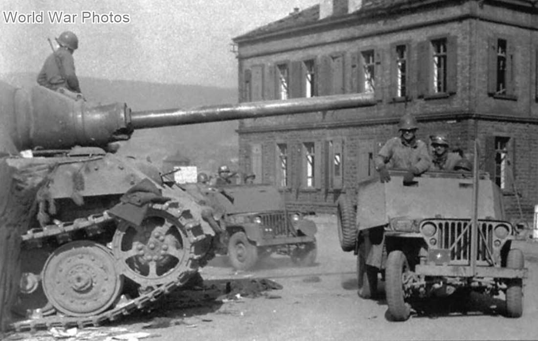 "Jagdtiger ""331"" of the s.Pz.Jg.Abt. 653, 1945"