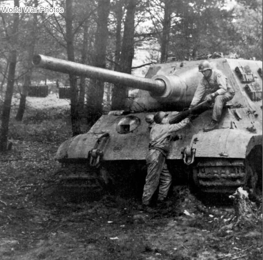 Jagdtiger of Schwere Panzerjäger-Abteilung 512