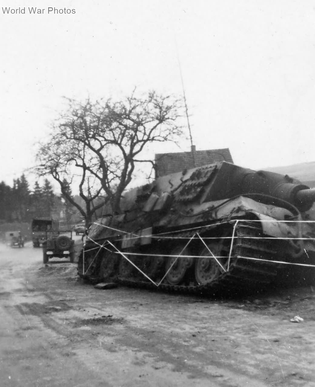 Jagdtiger of the sPzJgAbt. 512 at Osterode 1945