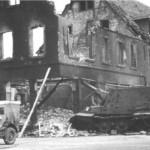 Jagdtiger of the Schwere Panzerjager Abteilung 653, tactical number 131 in Schwetzingen 1945