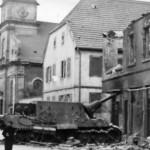 Abandoned Jagdtiger 131 Schwere Panzerjager Abteilung 653