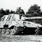 German tank destroyer Jagdtiger