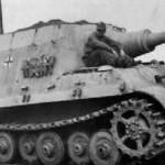 Jagdtiger with zimmerit, 1944
