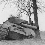 "Jagdtiger ""314"" Fgst.Nr. 305012 from schwere Panzerjäger-Abteilung 653, commander Feldwebel Erich Bonike"